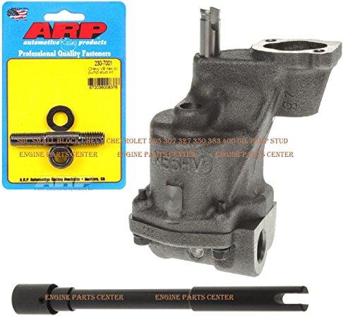 Melling M-55HV SBC Chevy Oil Pump HIGH Volume ARP 230-7001 HP Oil Pump Stud 305 307 327 350 383 400 (HV Pump & Stud)