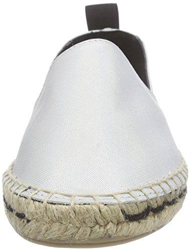 SPM Hound Espadrille Shoe Damen Espadrilles Silber (Lumiere/Black)