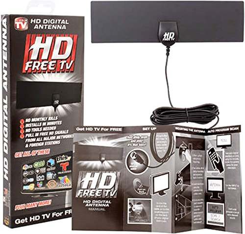 Hd Network Cable (2 Pack - As Seen On TV HD Digital Antenna - 10ft. Coaxial cable with standard)