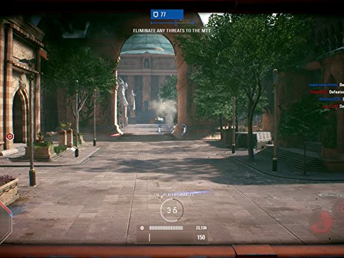 Clip: Battle of Theed (Clones and Droids)