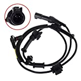 #1: AmosTek 1pc ABS Wheel Speed Sensor Front Left/Right for 2005-2010 Ford F-250 Super Duty 4WD 2005-2010 Ford F-350 Super Duty 4WD