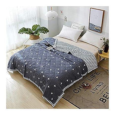 Amazon.com: KFZ colcha de verano edredón colcha para cama ...