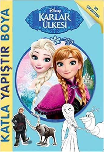 Disney Karlar Ulkesi Katla Yapistir Boya Kolektif 9786050927375