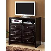 247SHOPATHOME Idf-7058TV-42 Television-Stands, Espresso