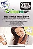 ServicePro 2-Year Service Plan with ADH for Electronics Between $750 - $999.99 (ELA2U1000)