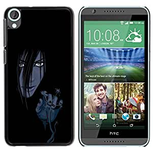 Impact Case Cover with Art Pattern Designs FOR HTC Desire 820 Evil Anime Girl Betty shop