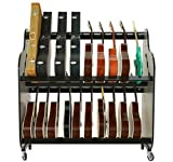 The Band Room Guitar Storage Cart For Music Classrooms