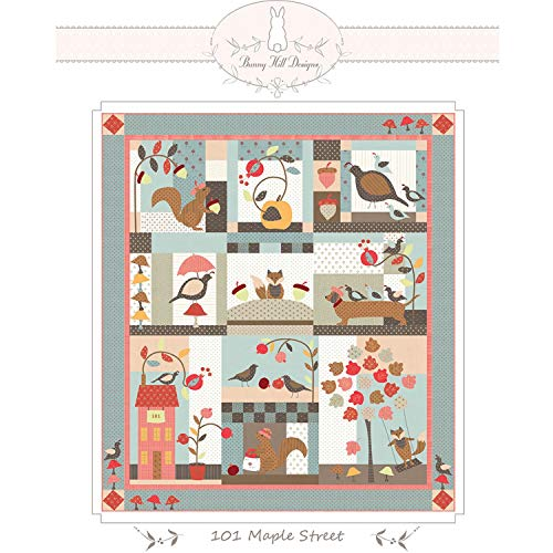 101 Maple Street Quilt Pattern by Bunny Hill Designs (Hill Quilt Bunny Pattern Designs)
