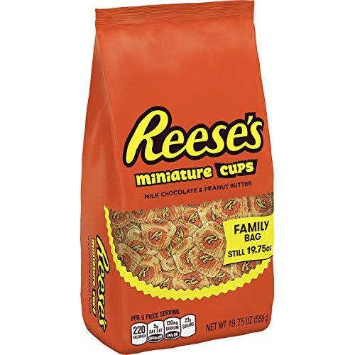 (REESE'S Peanut Butter Cups Miniatures, 19.75 Ounce)