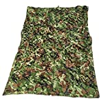 Camouflage Three-Layer Shade Net Cloth 85% Sun Protection Breathable Garden Flowers Anti-UV Multipurpose Wire Mesh,20 Sizes,OneColor-34m