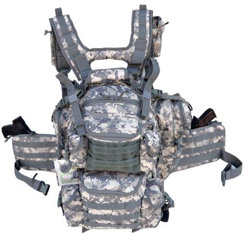 Explorer Tactical Bag, ACU Camo, 20 x 11.50 x 11-Inch