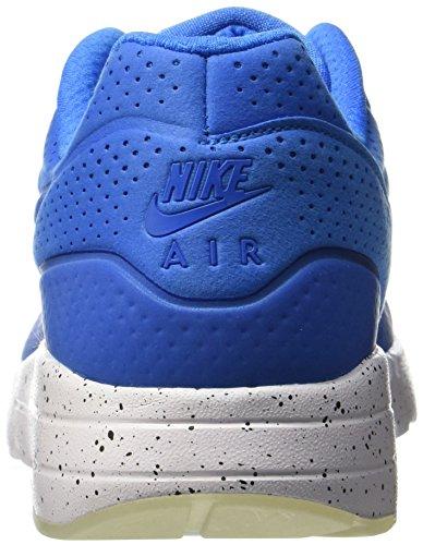 Nike Uomo Air Max 1 Ultra Moire Scarpe Running Blu (Azul (Azul (Photo Blue/Photo Blue-white)))