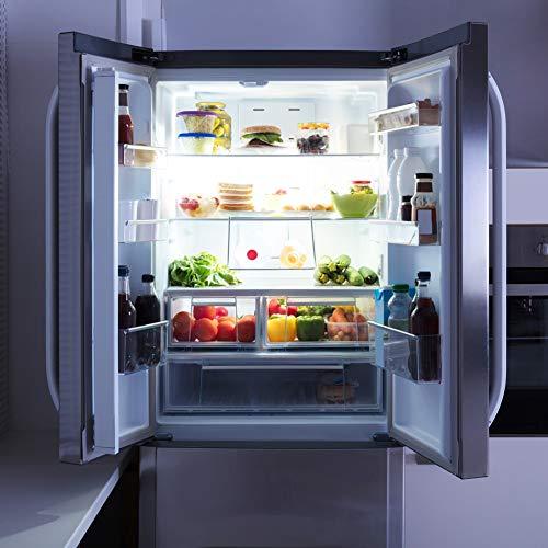 LED Refrigerator Light Bulb 40W Equivalent 120V A15 Fridge Waterproof Bulbs 5 W Daylight White 5000K E26 Medium Base Freezer Ceiling Home Lighting Lamp Non-dimmable(2 Pack)