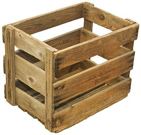 Grandes Originale cajón-estantería 47,5cm x 33cm x 38cm manzana caja/fruta (/caja de madera: Amazon.es: Hogar