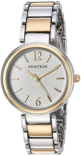 Armitron Women's 75/5467SVTT Two-Tone Bracelet Watch