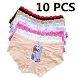 Deniy New 10pcs/lot, lace sexy waist pants briefs pants underwear