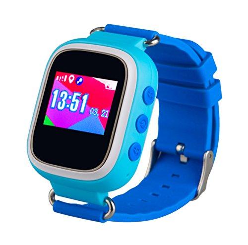 TechComm TD-03 Kids Smart Watch GPS Pedometer Geofencing Sleep Monitor (Text Discover Card Alerts)
