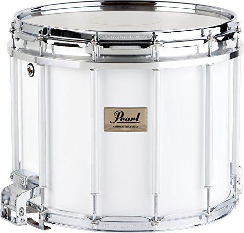 13 Marching Snare (Pearl Competitor High-Tension Marching Snare Drum Midnight Black 13 x 11 in. High Tension)