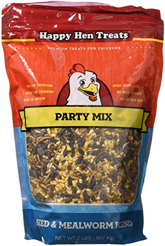 - Happy Hen Treats Party Mix Seed and Mealworm, 2 lb