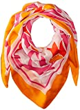 Echo Women's Mambo Burn Out Square Scarf, Petal Pink, One Size