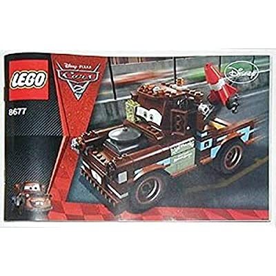 LEGO Disney Cars Exclusive Limited Edition Set #8677 Ultimate Build Mater: Toys & Games