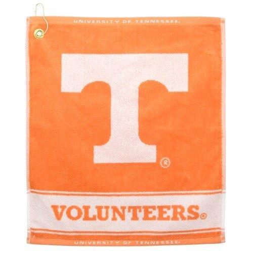 NCAA Tennessee Volunteers Woven Jacquard Golf - Jacquard Ncaa Woven Towel