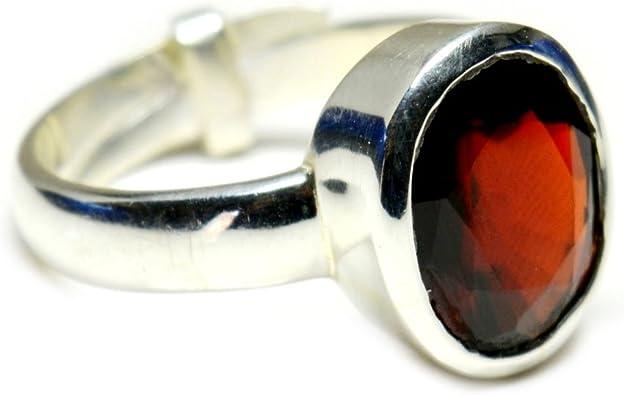 Jewelryonclick Natural 3 Carat Ceylon Hessonite Panchdhatu Ring for Womens Chakra Healing in Size 4-13