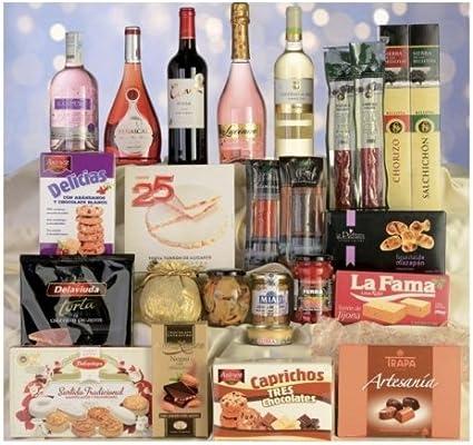 Cestas De Navidad y Regalos Caja de Navidad Lote - 12: Amazon.es: Salud y cuidado personal