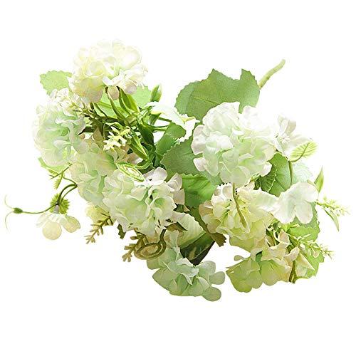 (litymitzromq Artificial Flowers Fake Plants, 1Pc Artificial Flower Garden DIY Party Home Photo Holiday Stage Craft Decoration Faux Fake Flowers Floral Arrangement)
