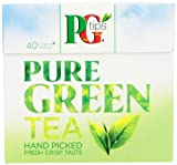 PG Tips Pure Green Tea Bag, 40 Count