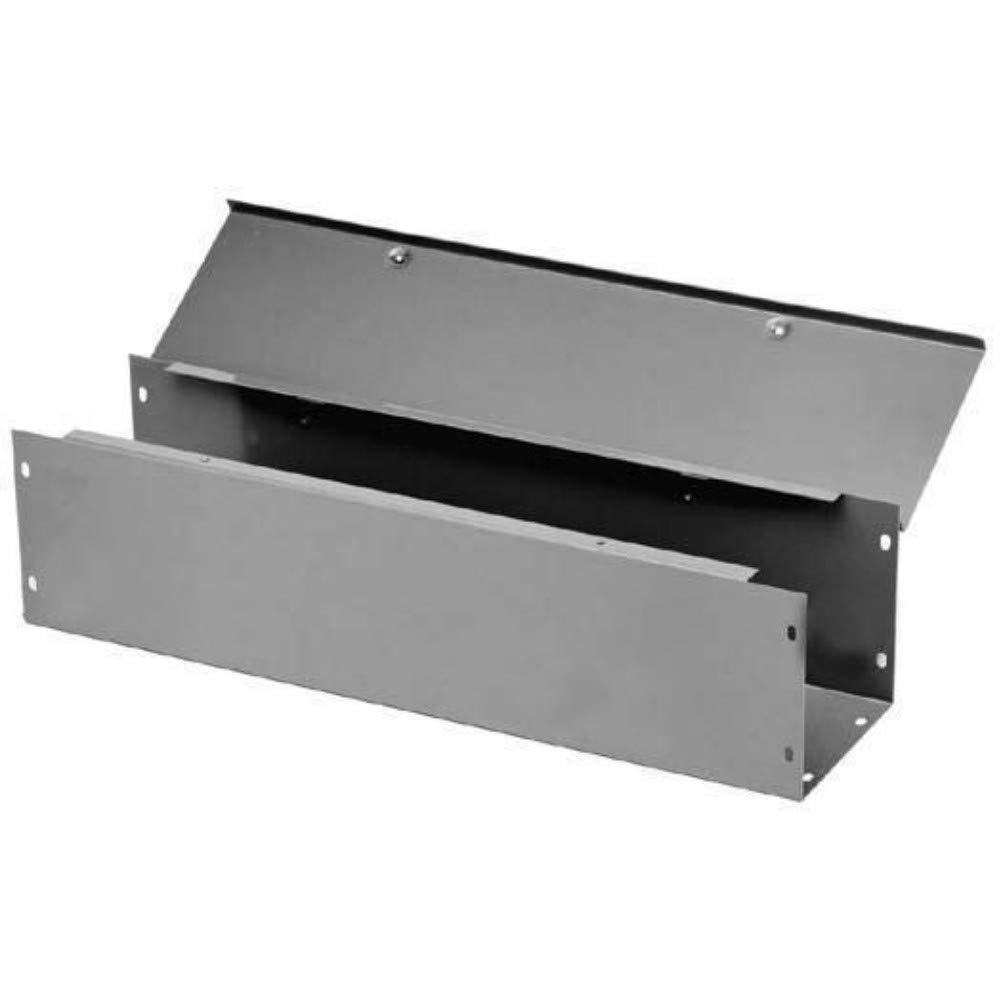 Straight Section NEMA 1 Hoffman F88G36 Wireway Steel Gray 8 x 8 x 36
