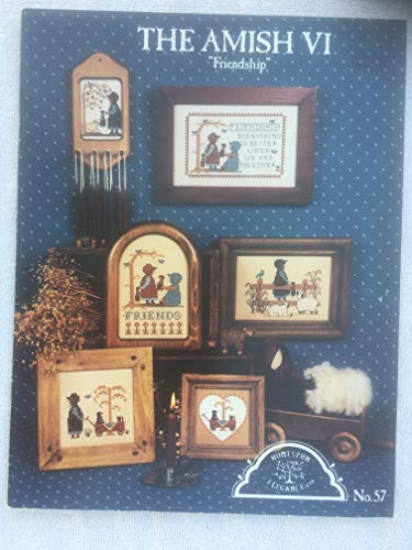 The Amish Vi Friendship Counted Cross Stitch Pattern ()