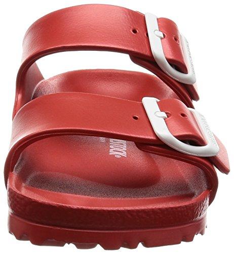 a1227dc4f Birkenstock Unisex Arizona Essentials EVA Red Sandals - 38 N - Import It All