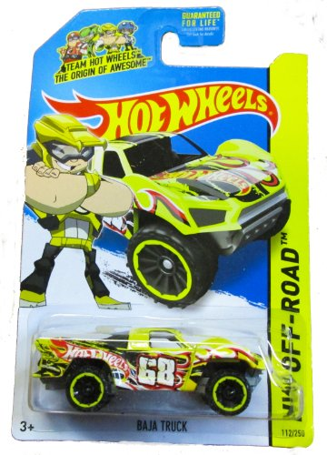 Hot Wheels - HW Off-Road 112/250 - Baja Truck - Team Hot Wheels (Yellow) (Hot Wheel Baja Truck compare prices)