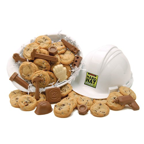 Hard Hat of Cookie and Chocolate Sweets Fresh Baked Cookies by Apple Cookie & Chocolate Co.