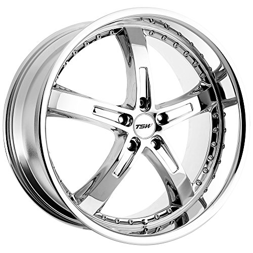TSW Alloy Wheels Jarama Chrome Wheel (18x8