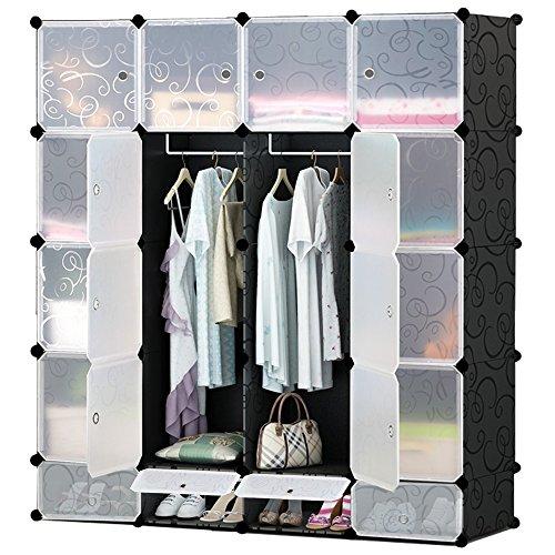 IPOW Multi functional Organizer Bookcase Wardrobe