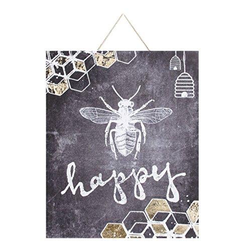 Graham & Brown Bee Happy Wall Art