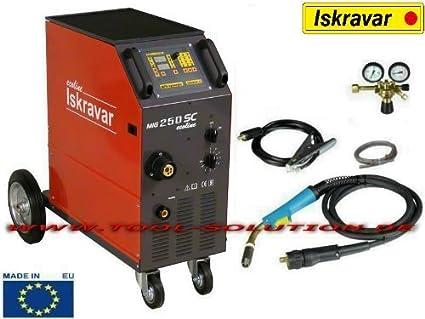 Iskra Mig Mag 250 SC EcoLine Protección Gas schw para sellar Gas schw Hielo sgerät iskravar