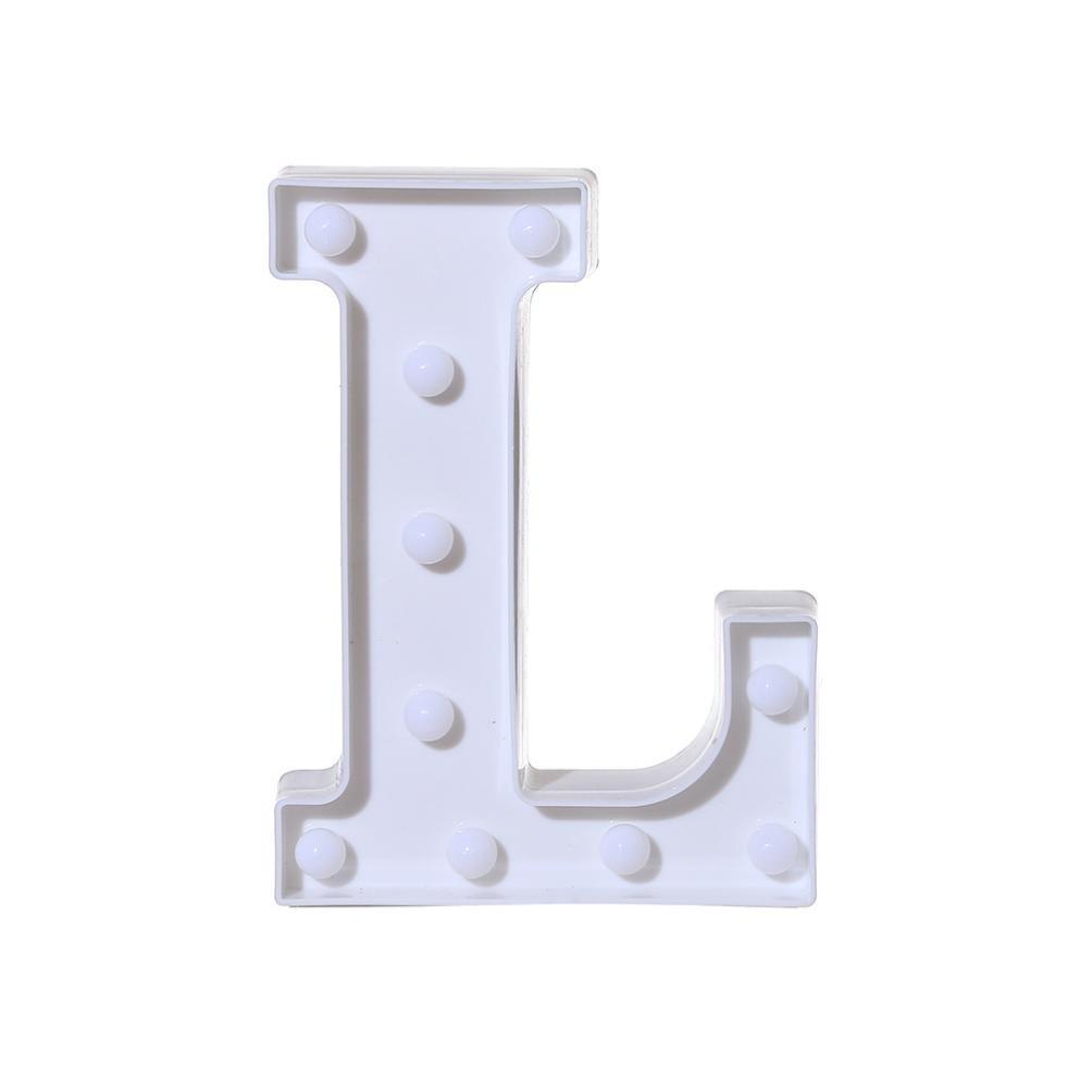 Amazon.com: Xeduo - Letra de alfabeto de 26 A y Z, luz LED ...