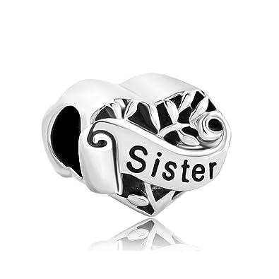 pandora bracelet sister charm