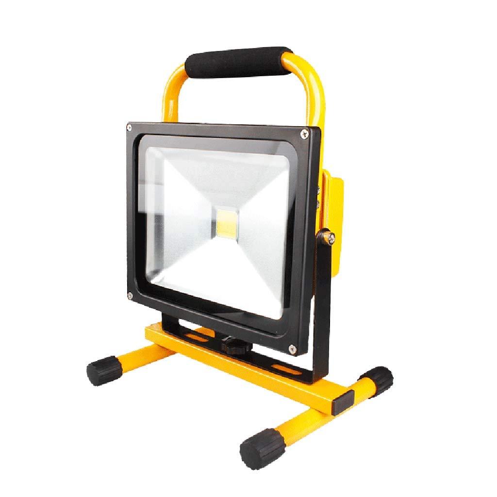 50W Portable Flood Light LED Work Light, IP65 Waterproof Spotlight Light for Hiking, Car Repairing, Werkstatt, Garage,20W
