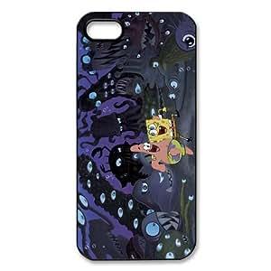 Custom SpongeBob New Back Cover Case for iPhone 5 5S CP981
