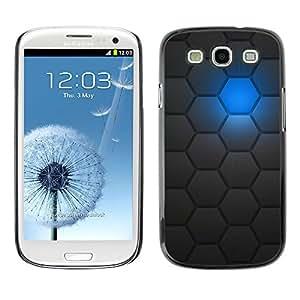 For SAMSUNG Galaxy S3 III / i9300 / i747 Case , Sci-Fi Futuristic Robot Pattern - Diseño Patrón Teléfono Caso Cubierta Case Bumper Duro Protección Case Cover Funda