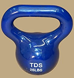 TDS PVC Coated Kettlebells 10,15, 20 & 25 lb (4 Pc Set) = 70 lbs