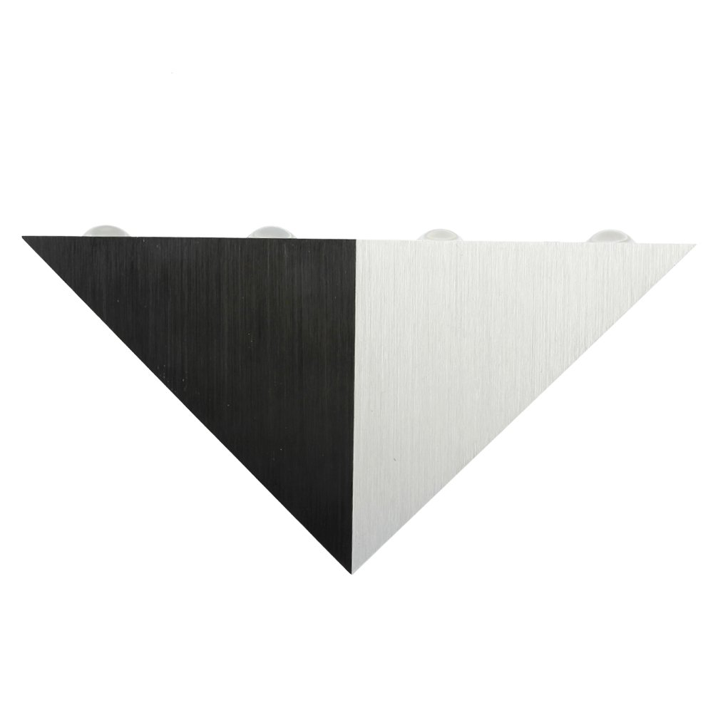 Senzeal Modern 5W LED Wall Lights Sconces Triangle Shape Wall Lamp Spot Light Fixture Decorative Lighting for Bedroom Theater Studio Restaurant Hotel Warm White