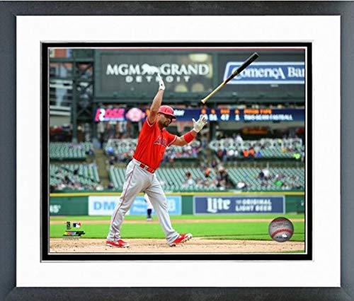 Albert Pujols Los Angeles Angels 2019 MLB 2000 Career RBI Action Photo (Size: 12.5