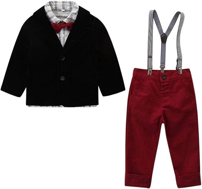 Kleinkind Baby Jungen Outfits Kleidung Kleinkind Kinder Sets Mantel Shirt Hose