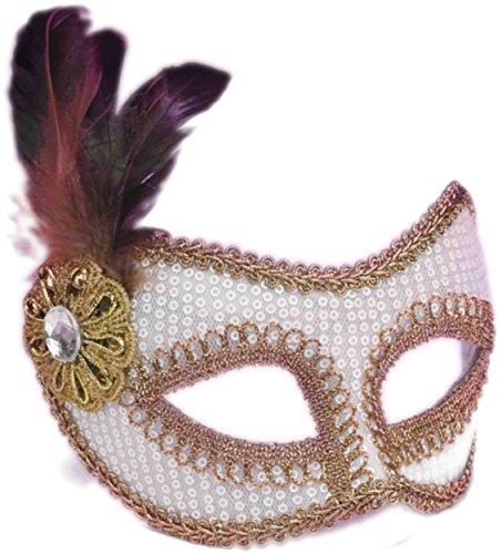 Forum Womens Venetian Carnival Feather