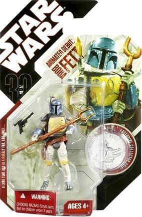 Star Wars 30e Anniversaire - Figurine animée Boba Fett | | | Soldes  47088d